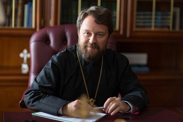 METROPOLITAN HILARION -- Metropolitan of Volokolamsk, the chairman of the Department of External Church Relations and a permanent member of the Holy Synod of the Patriarchate of Moscow. He is also a noted theologian, church historian and musical composer.
